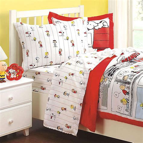 peanuts bedding peanuts bed sheets set 3pc snoopy bedding sheets twin bed