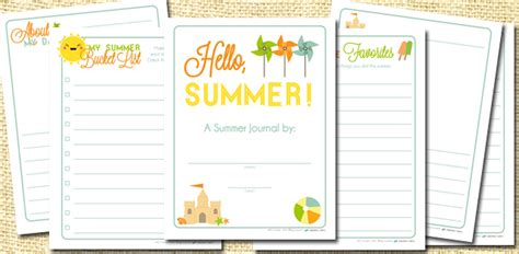 printable summer journal pages journal printable images gallery category page 1