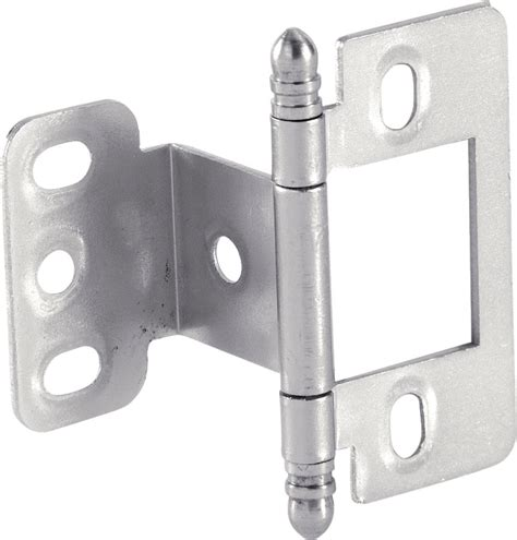 non mortise cabinet hinges nickel hafele 351 86 630 non mortise decorative hinge