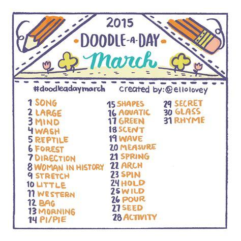 doodle list rhi creations