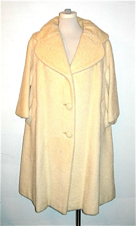 cream swing coat lilli ann cream mohair swing coat nvision cincinnati