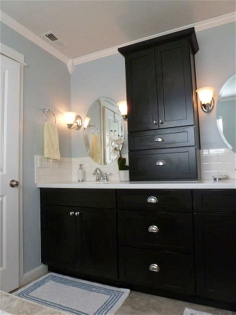 painting bathroom vanity black decorating with black 13 ways to use dark colors in your
