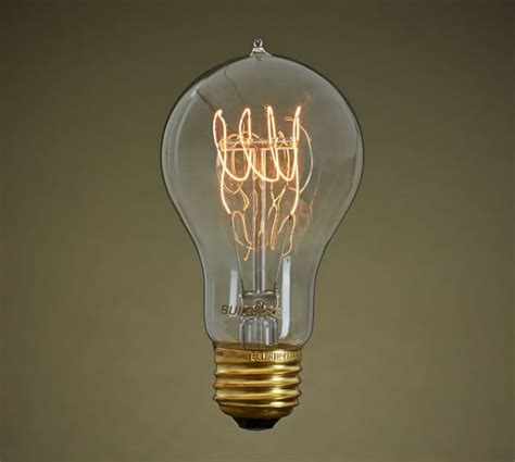 pottery barn light bulbs filament loop 60w light bulb pottery barn