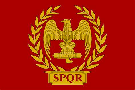 Ancient Roman Empire Flag | flag of the roman empire just a flag of the roman empire
