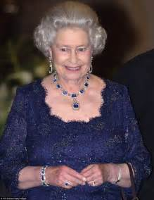 queen elizabeth ii glistens in diamonds and sapphires for the queen s glorious necklaces all have fascinating