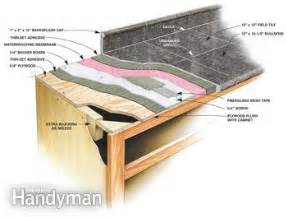 granite countertops how to install granite tile family
