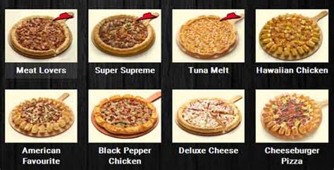 Pizza Medium Cheese Rasa Sosis Supreme paket harga menu pizza hut indonesia