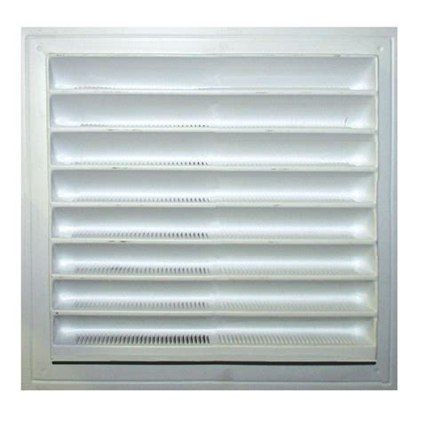 master flow 12 in x 12 in plastic wall louver vent in