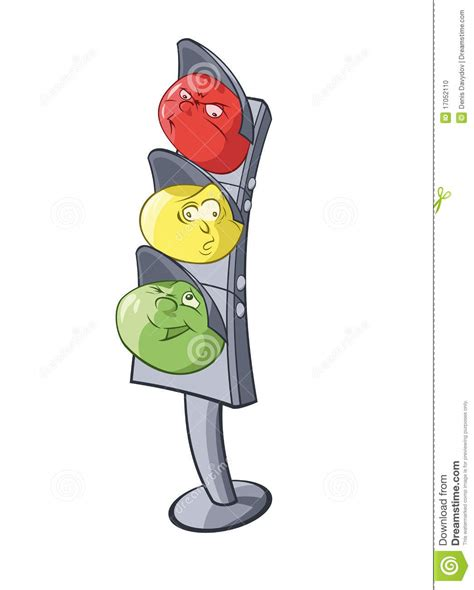 clipart semaforo traffic light stock vector illustration of strict