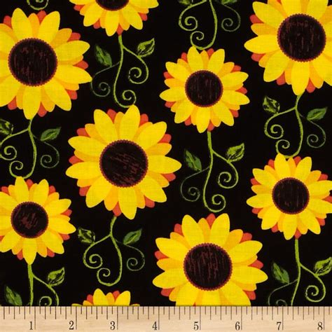 Discount Wall Decor Home Accents by Kanvas Fall Festival Sunflower Delight Black Discount