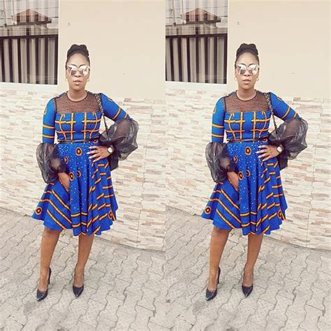 fabulous short gown ankara styles