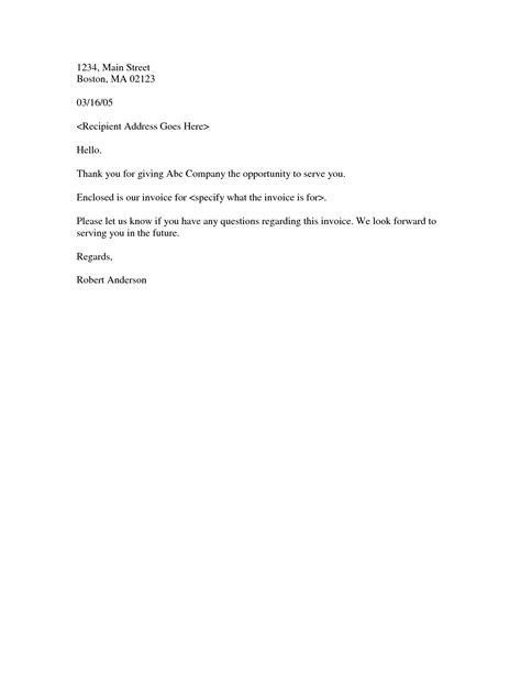 invoice cover letter dascoop info