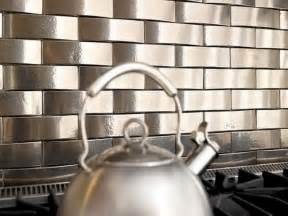 Self Stick Kitchen Backsplash by Stainless Steel Backsplash Tiles For Kitchen Home Design