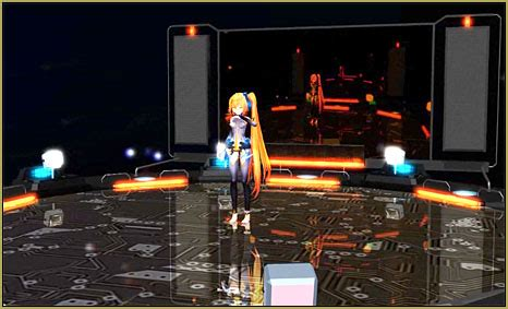 mmd working floor stage working the stage lights learn mikumikudance mmd
