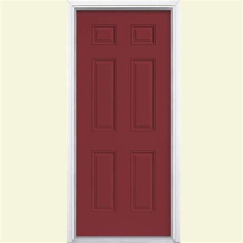Masonite 32 In X 80 In Cheyenne 2 Panel Painted Smooth 32 X 72 Exterior Door