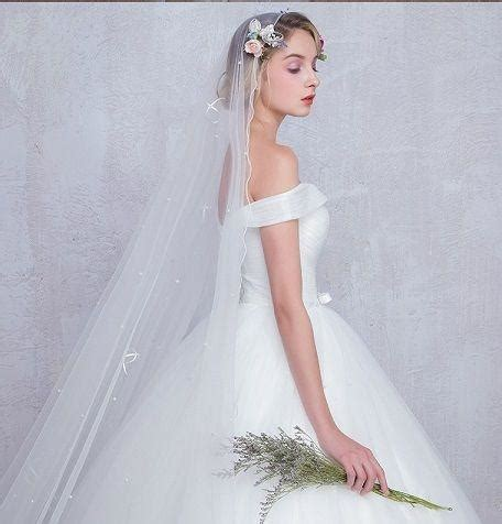 chic ball gown wedding dresses off the shoulder ruffles