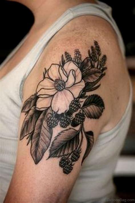 lotus flower bomb tattoo 34 wonderful magnolia tattoos on shoulder