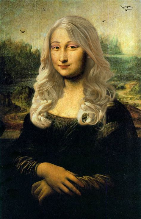 is lisa on la hair a man mona lisa photomanipulation by tsiga91 on deviantart