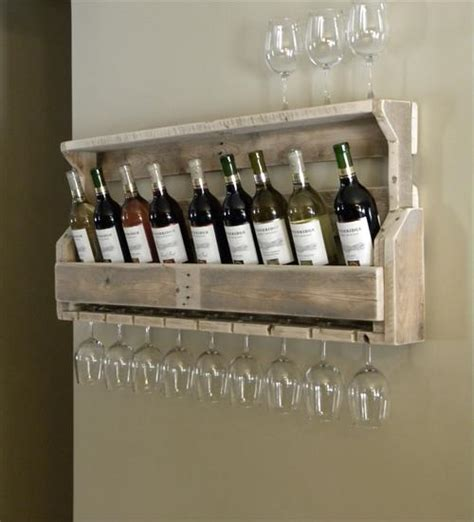 Wine Rack With Shelves by Pallet Wine Rack Ideas Pallets Designs