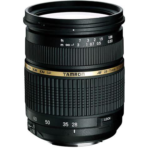 lenses for canon tamron 28 75mm f 2 8 xr di autofocus lens for canon eos