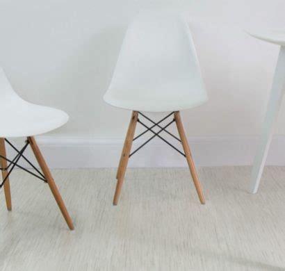 schalenstuhl weiß stuhl wei holzbeine stunning relaxdays design stuhl er