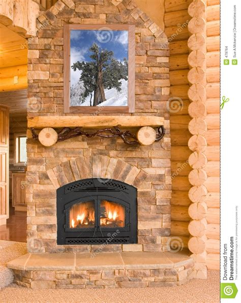 houses with fireplaces log cabin home interior with warm fireplace with wood