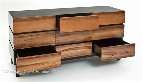 modern furniture dresser modern wooden dresser woodland creek furniture