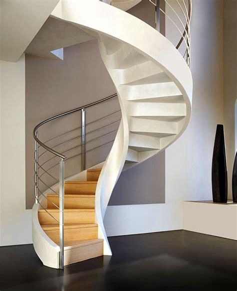 concrete spiral staircases  rizzi interiorzine