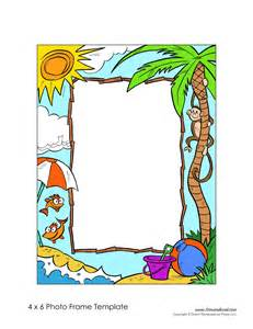picture frame template free photo frame templates make your own photo frame