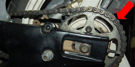 Pelumas Rantai Sepeda Motor tips memelihara rantai dan gir set sepeda motor seputar