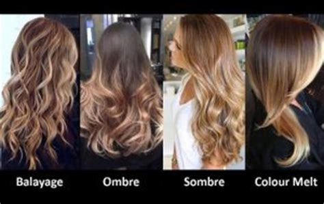 what does g mean in hair color what is the difference between ombre and sombre hair