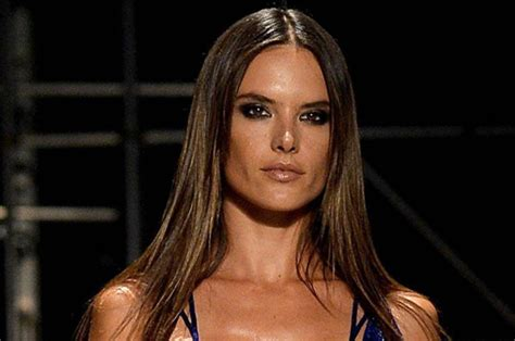 Alessandra Ambrosio Wardrobe Malfunction by Alessandra Ambrosio S Secret Suffers Nip