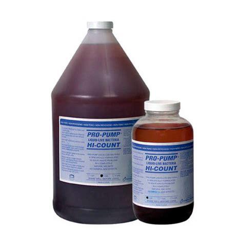 Pro Pump Hi Count Liquid Live Septic Bacteria By