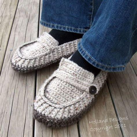 pattern crochet mens slippers download now crochet pattern modern mens loafers