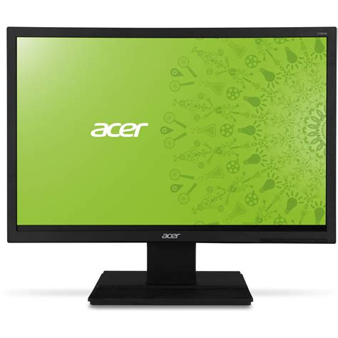 Led Monitor Acer acer v196hql ab 18 5 quot led backlit lcd monitor um xv6aa a01