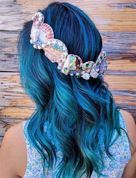 hair mermaid best 25 mermaid hair colors ideas on unicorn