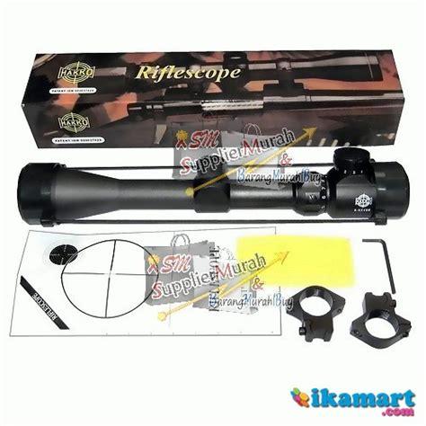 Harga Teropong Senapan Tercanggih by Jual Teropong Senapan Riflescope Tele Hakko 3 9x40e Harga