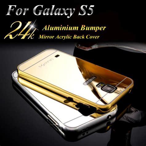 Bumper Mirror S5 Samsung Galaxy Aluminium Bumper With B Diskon phone for samsung galaxy s5 bumper luxury