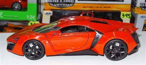 124 Lykan Hyper Sport 1 24 lykan hypersport rojo rapido y furioso c caja 525 00 en mercado libre
