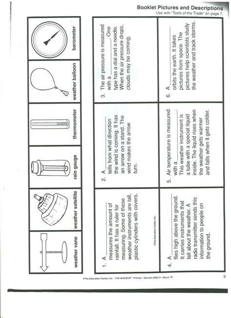 Weather Tools Worksheet by Weather Tools Worksheet Worksheets Releaseboard Free
