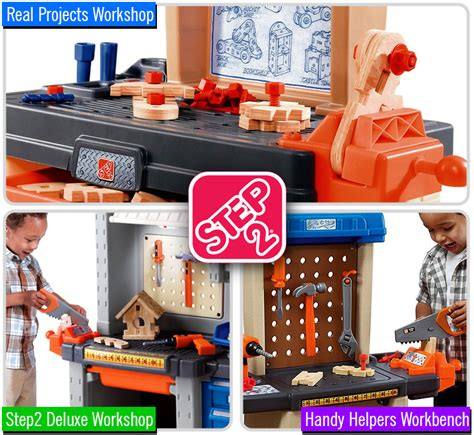 step2 real projects workshop and tool bench step2 workbench review kids tool bench