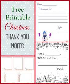 7 best images of free printable from thank you notes free printable