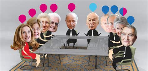 qui si鑒e au conseil constitutionnel infographie fabius rejoint jospin le nouveau conseil