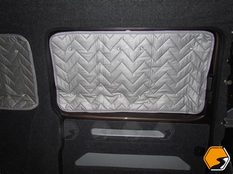 Portable Blackout Blinds Vw T5 Or T6 Near Side Thermal Window Blind Campervan
