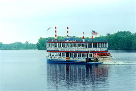 ausable river queen boat tour ausable river queen