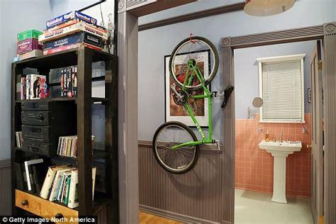 bathroom tape bike hulu recreates seinfeld nyc apartment in honor of