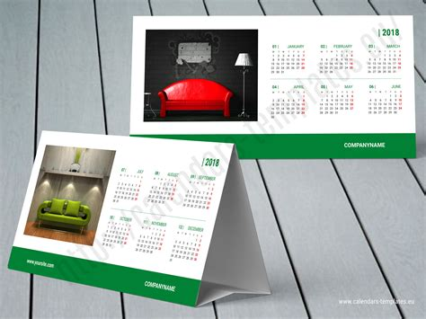 Desk Calendar Kb60 W9 Template Calendar Template