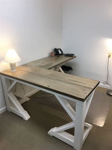 diy farmhouse desk for 75 00 everything in 2019