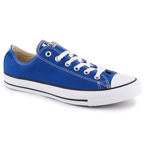 Converse Blue Ox converse chuck all ox womens trainers in royal