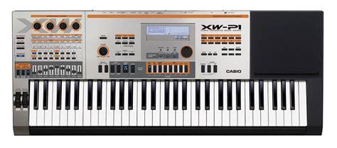Alat Musik Keyboard Casio alat musik performance synthesizer casio xw p1 legato center jakarta indonesia